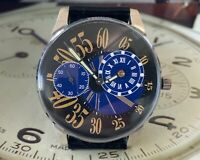 Fascinating and Highly Unusual Retro Regulator Watch - Superb Exploding Numerals