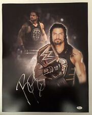 Roman Reigns Signed Autographed 16x20  Photo WWE The Guy JSA Sticker Only 5