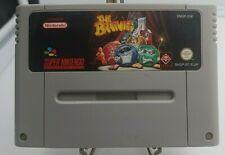 THE BRAINIES *Super Nintendo SNES PAL EUR Game* Loose