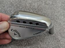 New Tour Issue Callaway Mack Daddy 4 MD4 56 degree Sand Wedge S Grind head only