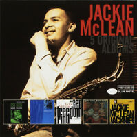 Jackie McLean : 5 Original Albums CD Box Set 5 discs (2018) ***NEW***