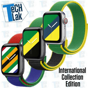 International Collection Edition For Apple Watch Band Nylon Sport Solo Loop