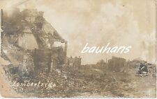 Foto Flandern Lombartzyde zerstört  1.WK (f969)