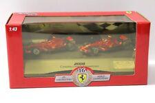 1:43 Ferrari World Champion F2008 2 Car Set Hotwheels L8784 Raikkonen Massa