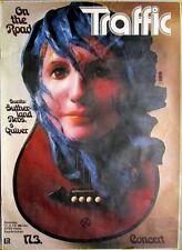 TRAFFIC - 1974 - Konzertplakat - Kieser - Sutherland Bros. - Tourposter - Saarbr