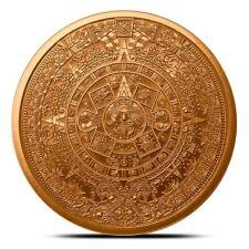 1 oz Copper Round - Aztec Calendar