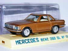 Joal 124 Mercedes-Benz 350SL Hard Top Metallic Gold 1/43 Boxed