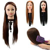 Salon Colorful Hairdressing Training Head Long Mannequin Doll  Gift