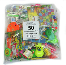 50 Assorted Party Bag Fillers Pinata Favours Boys Girls Unisex Lucky Dip Prizes