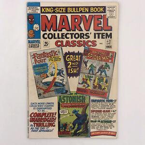 Marvel Collectors' Item Classics #2 (1966) FN- Stan Lee Jack Kirby
