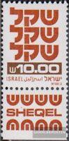 Israel 841y I mit Tab postfrisch 1980 Freimarken: Schekel