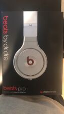 Beats by Dr Dre Monster Edition White Headphones