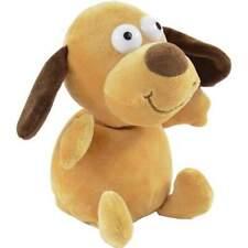 Plüschfigur Hund mit Aufnahme und Wiedergabefunktion 16cm Labertier plappert nac