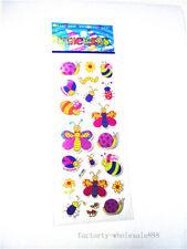 stickers kids Teacher Kids' Crafts 1 sheet Butterfly caterpillar Paper gift new