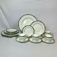 20 PIECE SET WEDGWOOD AMHERST FOUR 5 PC PLACE SETTINGS DINNER SALAD BREAD PLATE