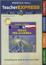 Prentice Hall Mathematics: Pre-Algebra: Teacher Express Texas Pc Mac Cd teach