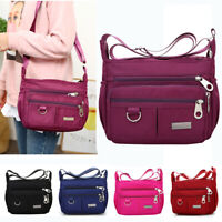 Women Handbag Casual Nylon Waterproof Ladies Shoulder Messenger Crossbody Bag
