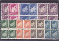 1947 Romania STAMPS King Mihai MNH royal big and small format Michael blocks