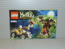LEGO® Monster Fighters Bauanleitung 9463 The Werewolf polybag instruction B1530