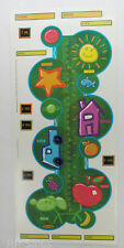 Huge Growth Chart Crayola Age Date Peel and Stick Room Wall Stickers Decor Decal