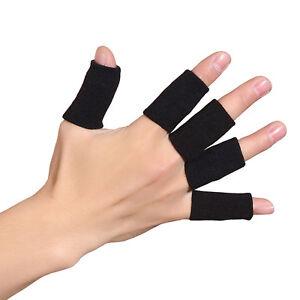 5x Fingerbandagen Fingerschutz Gelenk Bandage Fingerschützer Hand Bandage Sport