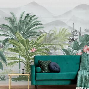 Art for the Home Tropical Forest Multicolour Wall Mural