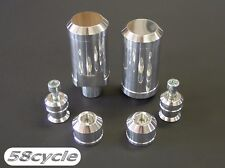 R1 Polished Frame Sliders SET with CAPS 2004 2005 2006 Yamaha Bar Ends Spools