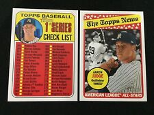 AARON JUDGE ALL-STAR TOPPS HERITAGE 2018 & CHECK-LIST YANKEES BASEBALL CARDS