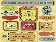# The Cats Meow Stickers by Karen Foster