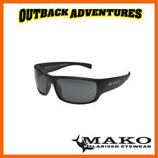 Mako Sunglasses Covert Matt Black Frame Grey Mirror Glass Lens M01-g0hr