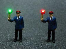 F71 H0 Figura SCHAFFNER CON Verde Rojo iluminado Llano LED 1:87
