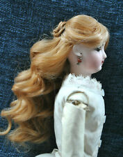 """5"""" Fashion wig for small bisque head doll"""