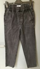 Toast Pull On Denim Trousers size 6