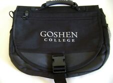 Goshen College Messenger Bag Laptop Book Black Tote Indiana Mennonite School New