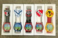 Rubber Wrist Watch With Official Team Logo Licensed by Official Soccer Teams