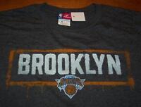 "VINTAGE STYLE NEW  YORK KNICKS NBA ""BROOKLYN"" T-Shirt MEDIUM NEW Basketball"