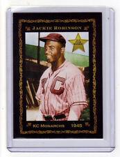 1945 Jackie Robinson KC Monarchs rookie, rare Monarch Corona Pastime #1, nm-mint