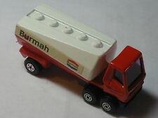 1973 Old Vtg Matchbox Superfast #63 Freeway Gas Tanker Toy Made In England