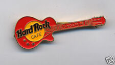 SINGAPORE HARD ROCK CAFE RED LES PAUL  (NO ENAMEL)