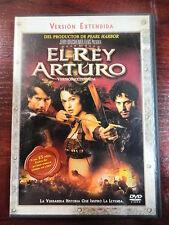 DVD El Rey Arturo,Clive Owen,Keira Knightley,version extendida