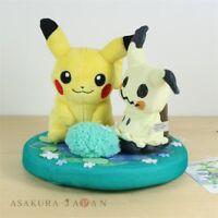 Pokemon Center Original Mimikyu dayo Diorama Plush doll Pikachu From Japan