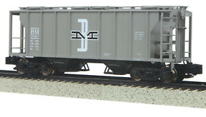 MTH S Gauge PS-2 Hopper Car Boston & Maine 35-75045