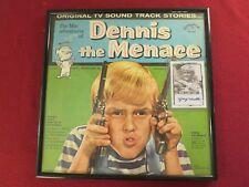 "FRAMED 1960's TV's  "" DENNIS THE MENACE "" ORIG. ALBUM W/PHOTO COVER AUTOGRAPHED"
