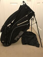 Ping Stand Bag + Rain Hood. Great Condition.
