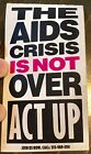 Vintage Aids Act Up sticker LGBTQ queer history activism SCARCE HTF