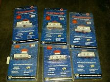 NEW 6 Pack! LED Boat/ Trailer 3 RED Tri Directional Array Mounted LED's