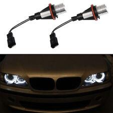 2X White LED Angel Eye Halo Marker Light Bulb For BMW E39 E60 E64 E66 E87 X5 X3