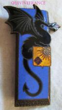 IN11104 - INSIGNE 2° Régiment de Dragons, Condé Dragons, émail, dos lisse, éping