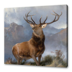 The Monarch of the Glen Edwin Landseer canvas print picture wall art