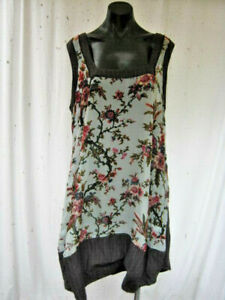 NIC. by Nicola Waite, As New, 6, The Most Gorgeous Tunic/Dress. Velvet Foral!